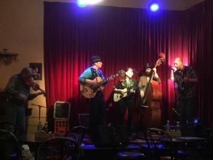 Slim Dime & The Prairie Kings at the Yarra Hotel photo thanks to David McInnes
